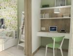 Дизайн-проект интерьера гостиной и кухни в скандинавском стиле