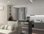 Дизайн-проект трёхкомнатнтной квартиры на Гагарина