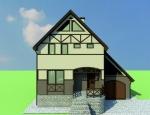 Эскизное предложение декоративного оформления фасада здания